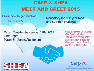 SHEA & CAFP Meet and Greet