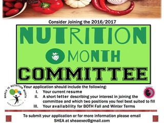 Nutrition Month Committee