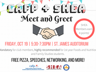 SHEA-CAFP Meet and Greet!