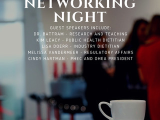 Food & Nutrition Networking Night