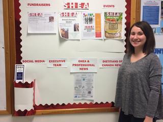 SHEA Bulletin Board