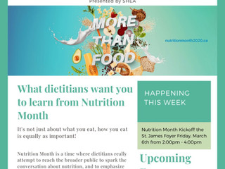 Issue 1: Nutrition Month Newsletter
