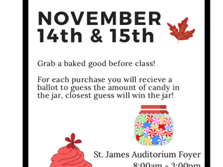 SHEA Fall Bake Sale