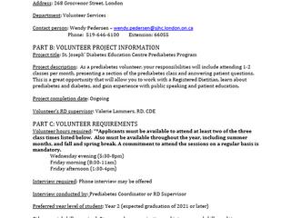 Looking for Volunteers!!!