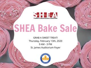 SHEA Bake Sale