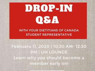 Dietitians of Canada Q & A