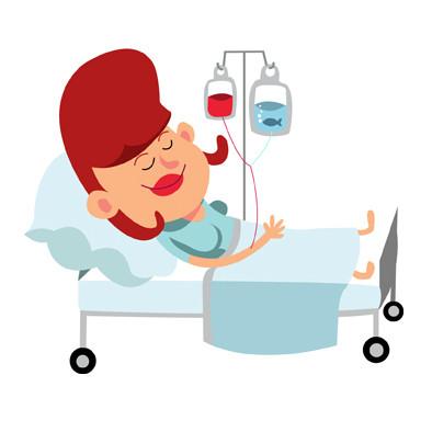 Hospitalización.