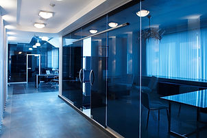 glass doors in the new office.jpg