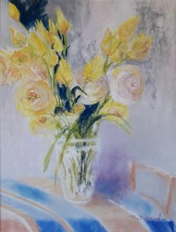 Lysianthus jaunes
