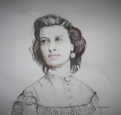 Pauline Cushman 19ème siècle