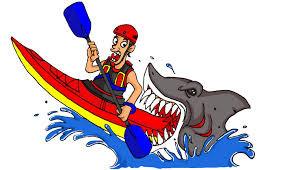 Kayak Training for Sea Swims
