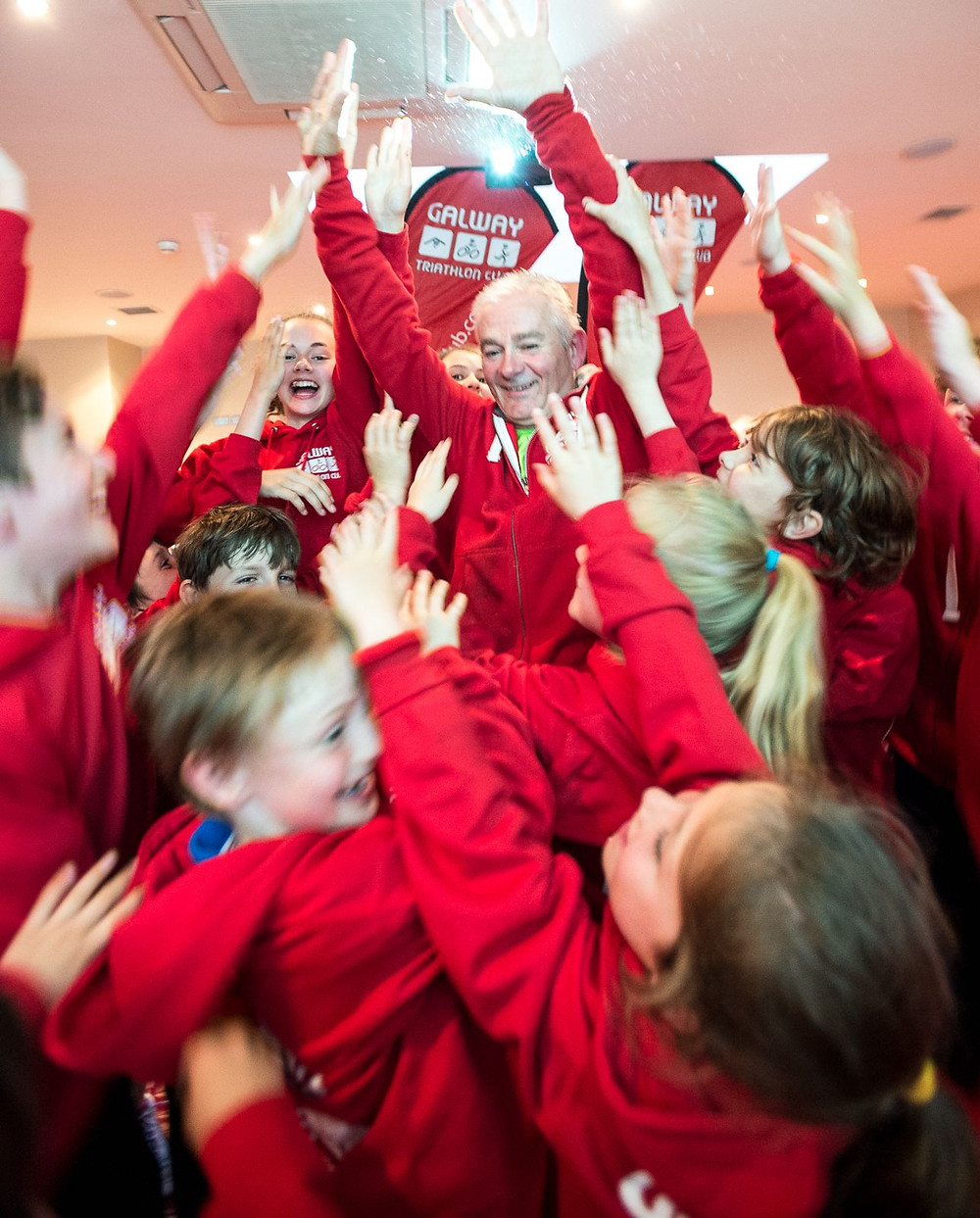 High Fives all Round for the Launch for GTC Juniors Photo Credit Michal Dzikowski.jpg