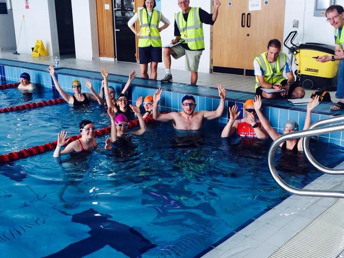 Aquathon Training -Well Done!