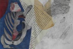 collage dessin nietzsche