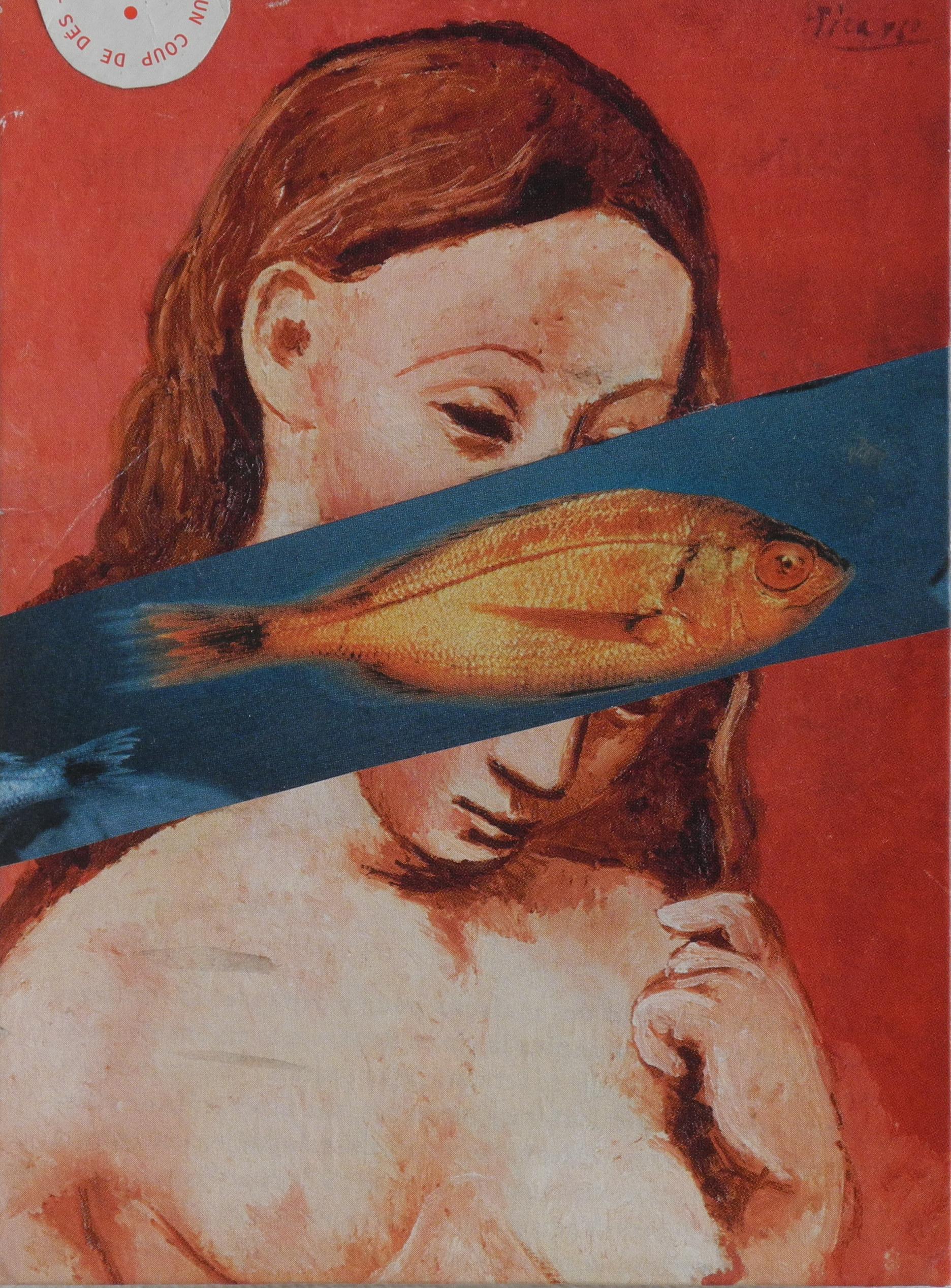 collage_12_femme_poisson_ou_autoportrait_d'après_picasso