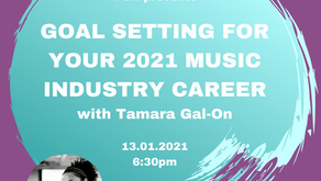 Goal Setting for Your 2021 Music Industry Career
