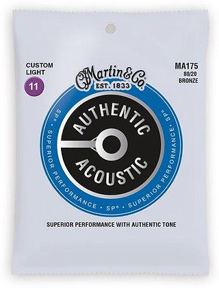 80/20 Bronze Authentic Acoustic Custom Light