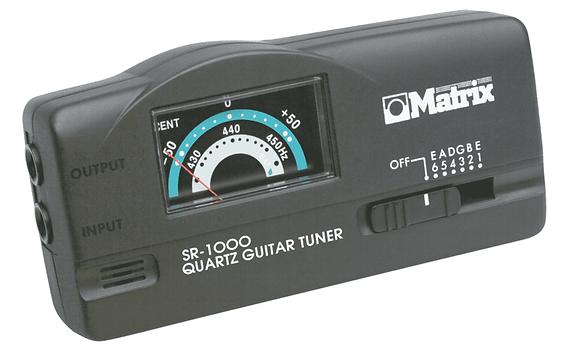 Matrix Quartz Guitar Tuner