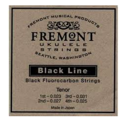Fremont Tenor Black Fluorocarbon Ukulele String Set