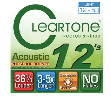 Cleartone Phosphor Bronze Light 12-53 Set