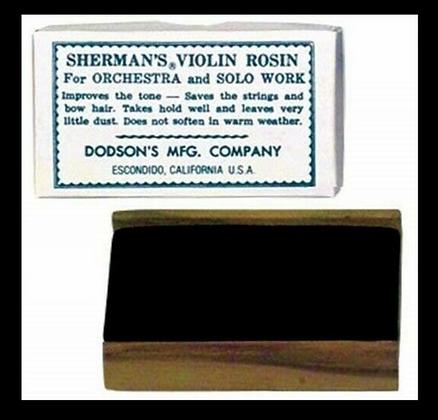 Sherman Dark Violin Rosin