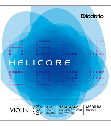 Helicore Violin Single G String