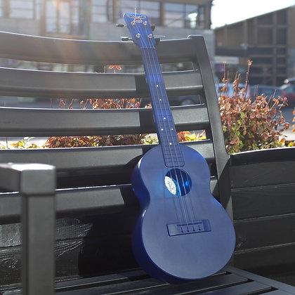 Outdoor Ukulele Blue Tenor Nickel