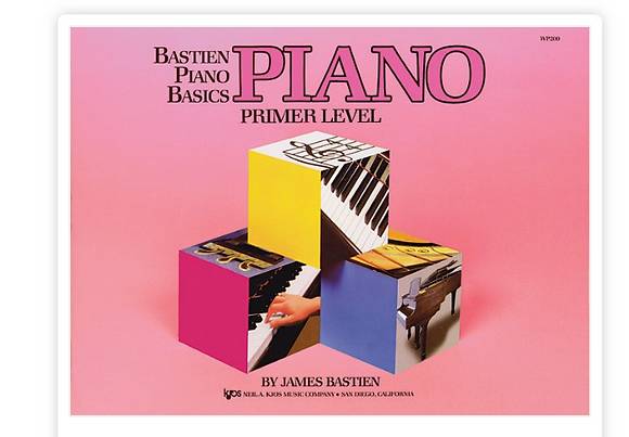 Bastien Piano Basics: Piano