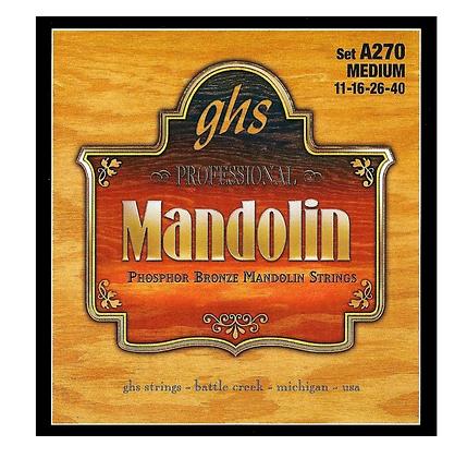GHS Phosphor Bronze Mandolin Strings A270 Medium 11-40