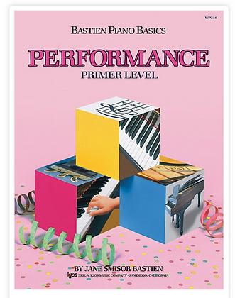 Bastien Piano Basics: Performance