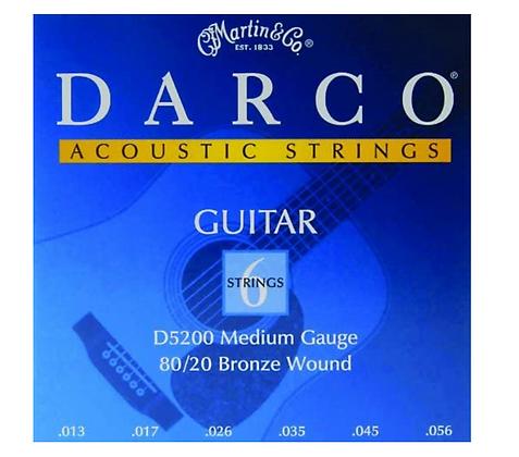 Darco 80/20 Bronze Medium Acoustic Set