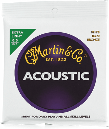 80/20 Bronze Authentic Acoustic Extra Light