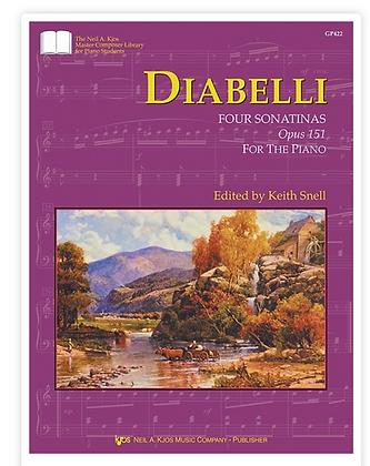 Diabelli: Four Sonatinas, Op. 151
