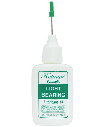 Hetman Spindle Bearing Lubricants