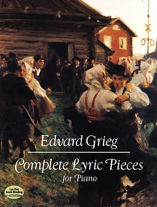 Grieg-Complete Lyric Pieces for Piano