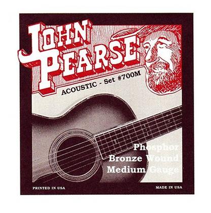 John Pearse Medium Acoustic Guitar Strings