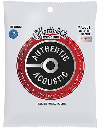 Phosphor Bronze Authentic Acoustic Lifespan Medium Treated