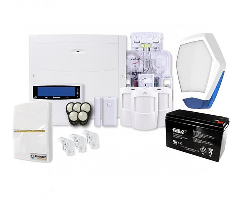 TEXECOM KIT Complete WiFi and App Enabled FULL Wireless Alarm Kit