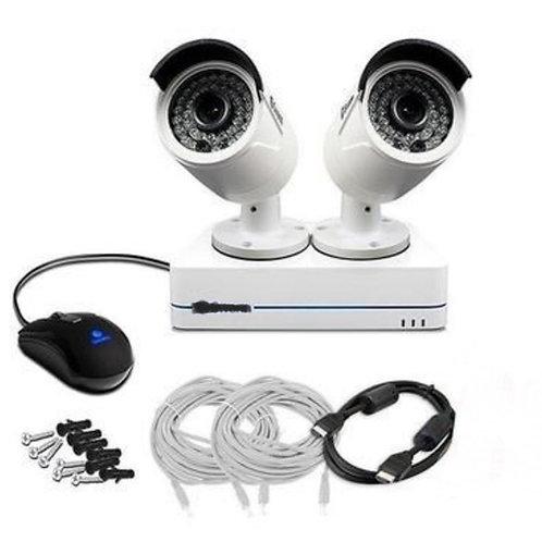 2 Camera 1080P HD CCTV system - 500GB