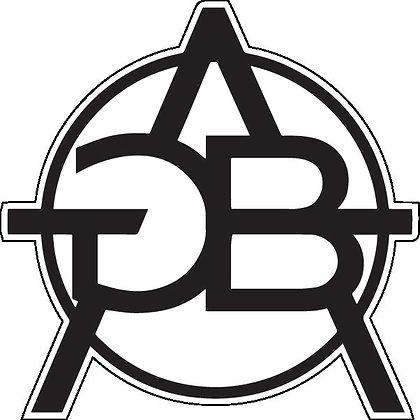 GBAx Logo Printed Sticker