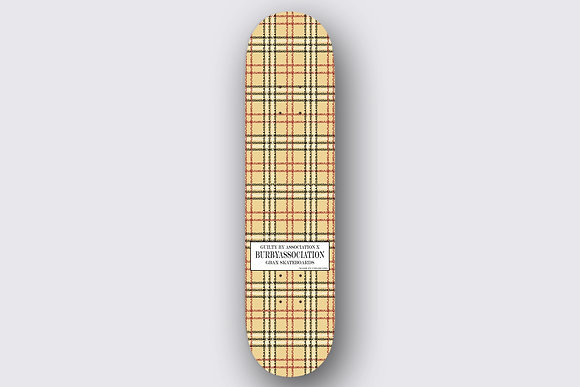 BurByAsoociation Skateboard