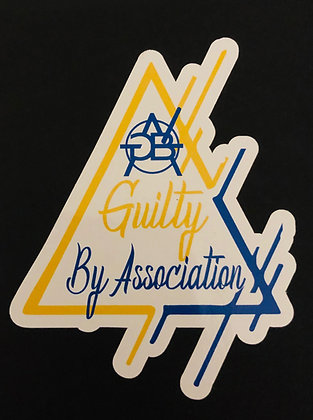 Guilty Triangle Sticker