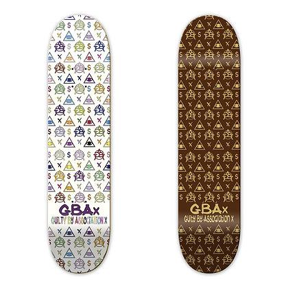 GBAx LV Skateboard Deck