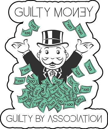 Guilty Money Man Sticker