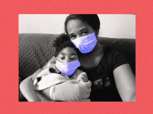 Coronavírus: a realidade de uma família afetada pelo zika com suspeita para a Covid-19