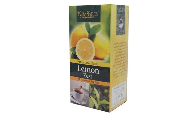 Kim Bees Lemon Zest Black Tea (28 count)