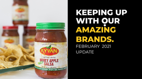 FEB 2021 - KEEPING UP WITH JULO'S AMAZING BRANDS.