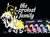 """The Protest Family (c'mon get hippie!)"""