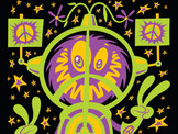 """""""Space Hippie Protest Monster!"""""""