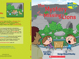 The Mystery of the Missing Lions (cover)